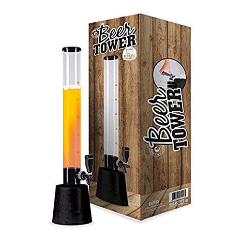 Biersäule | Biertower | Premium Qualität | 3.5L | Große Kapazität | Trinksäule |...