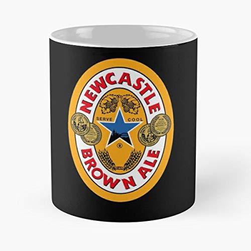 5TheWay Newcastle Brown Ale Mug Standardkaffee 11 Unzen Geschenk Tassen für alle