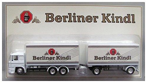 Berliner Kindl Nr.01 - Logo & Schriftzug - Man F90 - Hängerzug Oldie