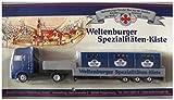 Weltenburger Nr.07 Spezialitäten Kiste - Man - Sattelzug mit Bierkästen