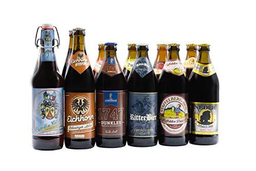 Bierwohl I Geschenkidee I Das Dunkle I Bierbox mit ausgewählten dunklen und Schwarzbieren aus...