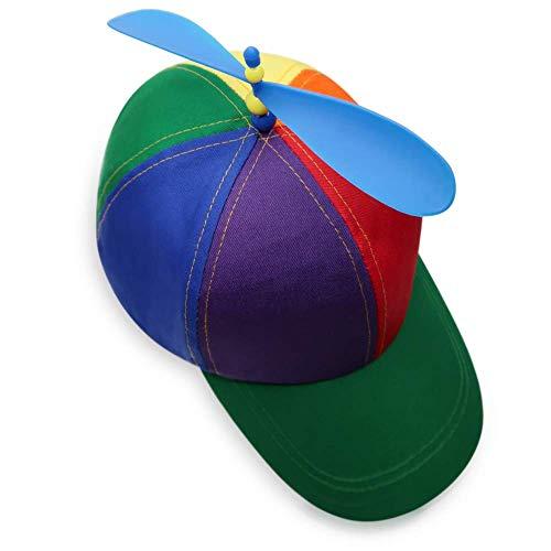 Pride Propeller Mütze für Party People   Helikopter Basecap   EMD Party Hut für...
