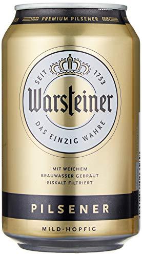Warsteiner Premium Pilsener Dosenbier mild-hopfig, internationales Bier nach deutschem...
