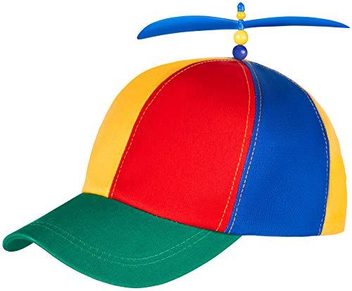 Bunte Propellermütze   Propeller-Mütze   Hubschraubermütze   Hubschrauber-Kappe   Baseball Cap...