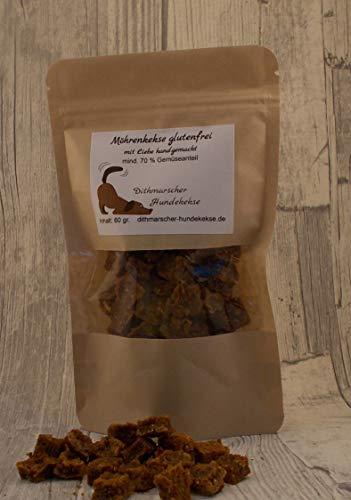 Dithmarscher Hundekekse Möhrenkekse glutenfrei 4X60 Gramm