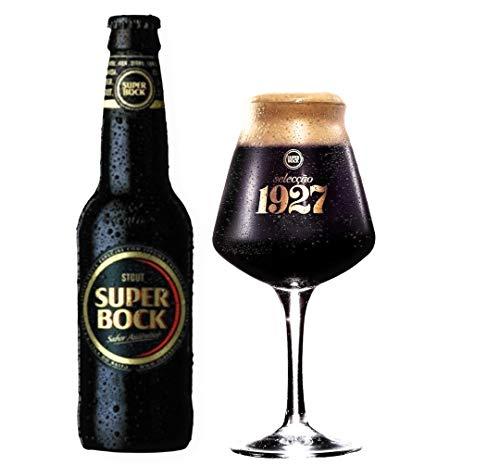 12 Flaschen Super Bock Stout - Das Kultbier aus Portugal Beer Bier