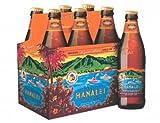 6 Flaschen Kona Bier Hanalei a 0,355l aus Hawaii Island Indian Pale Ale 4.5% inc. 1.50€ EINWEG...