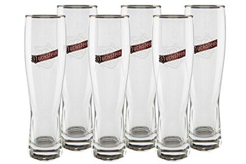 6 original Ducksteiner exclusiv Gläser 0,5l Gastro Edition