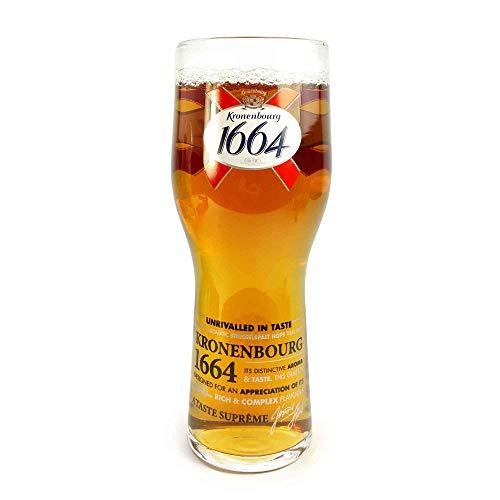 Tuff-Luv Ursprüngliche Pint Bier-Glas / Gläser / Barbedarf CE 20 Unzen / 568ml für Kronenbourg...