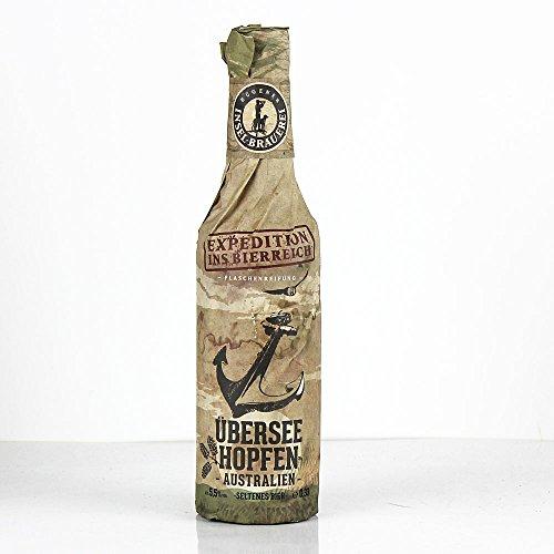Rügener Insel-Brauerei - Überseehopfen Craftbier 5,5% Vol. Indian Pale Ale - MW0,33l inklusive...