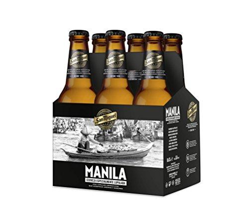 Bier San Miguel Manila 24x33cl (Pack 24 Flaschen)