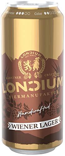 Deutsche Bierspezialitäten in der Dose (24 x 0,5l Loncium Wiener Lager)
