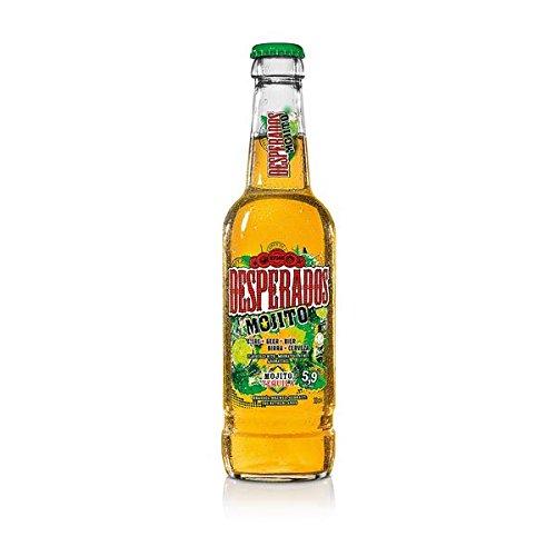 12 Flaschen Desperados Mojito Orginal a 0,33l incl. 0,96€ Mehrweg Pfand Bier Flavoured with...