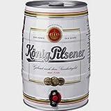4 Fässer König Pilsener Partyfass Dose a 5 Liter 4,8% vol.
