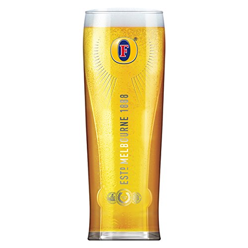 Fosters Pint Glass New Tall Design by Fosters