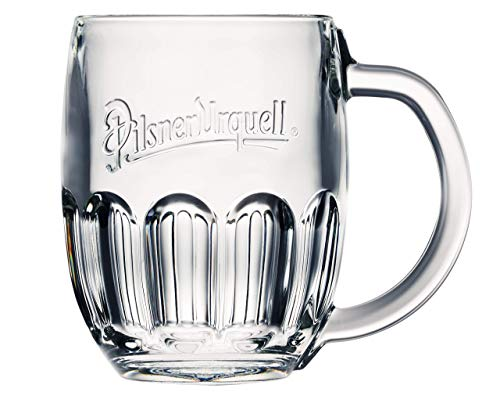 Pilsner Urquell 6 Stück Glas Gläser Halbliterglas 0,5l Bierglas Humpen Seidel Biergläser...