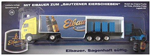Eibauer Münch-Bräu Nr.49 - Bautzener Eierschieben - Volvo FH16 - SZ mit Stapler