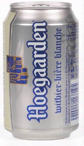 Original belgisches Bier - Hoegaarden Dosenbier weiß 24 x 33cl. Karneval und Party!!