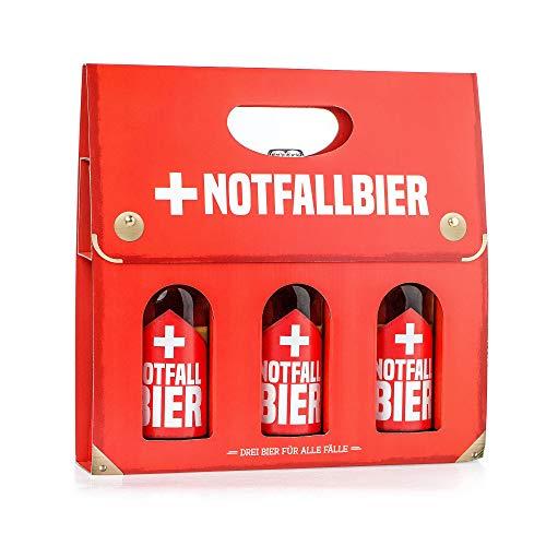 Monsterzeug Bierkoffer für den Notfall, Notfallbier für Männer, Männerhandtasche Bierträger,...