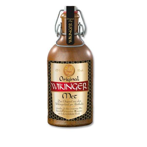 Wikinger Met Original Behn Honigwein 11,0% Vol. im Tonkrug (2x 0,5l = 1l Met)