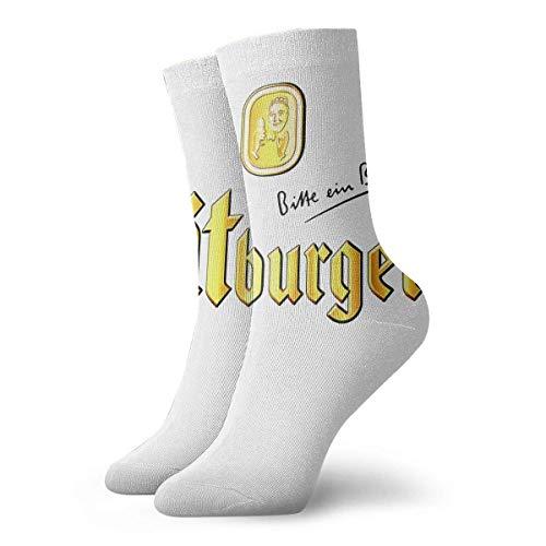 Yuanmeiju Socken stricken Bitburger Beer Short Socks