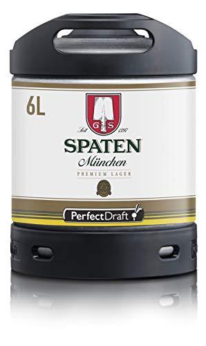 Bier PerfectDraft 1 x 6-Liter Fass Spaten München Premium Lager Bier - Lager. Zapfanlage für...