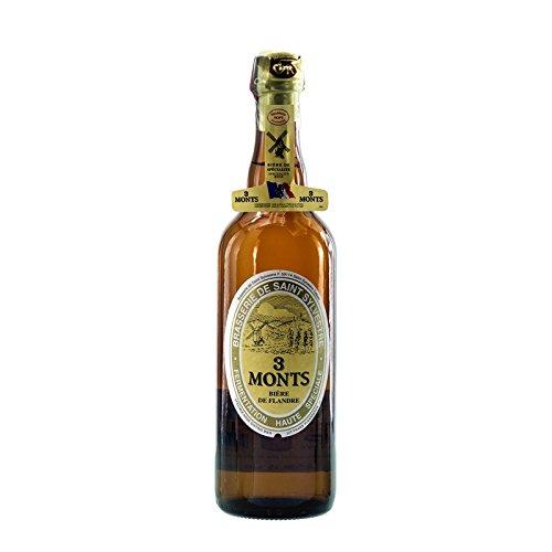 Bier Spezialität 3 Monts Bière de Flandre helles obergähriges Starkbier 0,75 Ltr. 8,5% alc.vol....