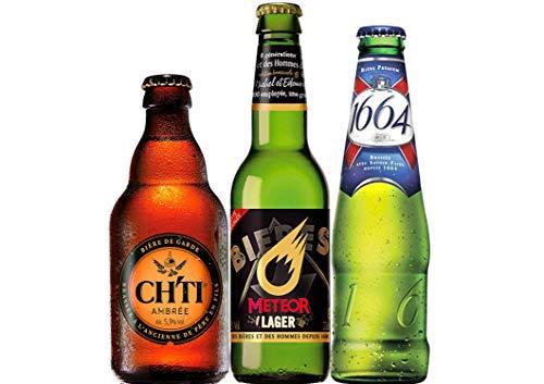 Französisches Bier Paket mit 3 Bieren - Biere aus Frankreich vom milden Pale Ale bis zur regionalen...