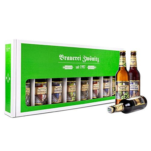 Brauerei Zwönitz Männerhandtasche Bier/Party Bier Set mit 8 Bieren/Bier Geschenke/Männer...