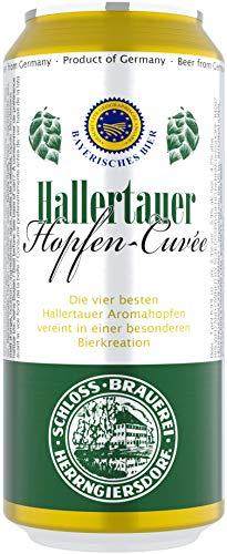 Deutsche Bierspezialitäten in der Dose (24 x 0,5l Hallertauer Hopfen-Cuvée)