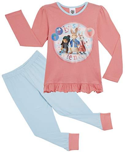 Peter Rabbit Pyjamas (7-8 Jahre, Pink & Hellblau)