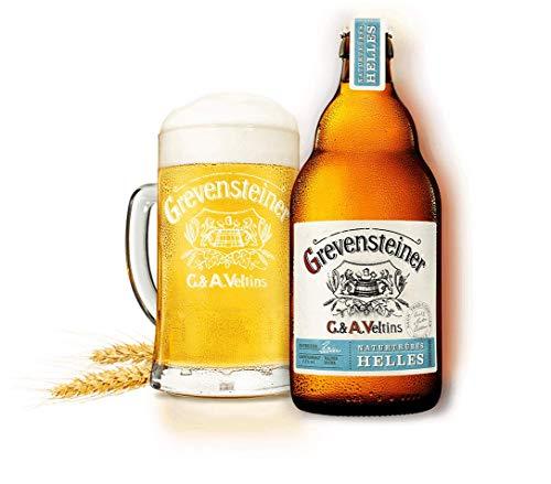 16 Flaschen Grevensteiner C & A. Veltins a 0,5l Bier naturtrübes HELLES inc. 1.28€ MEHRWEG Pfand