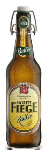 20 Flaschen Moritz Fiege Radler Bügelflaschen inc. Pfand Bochum Bier inc. 3.00€ MEHRWEG Pfand