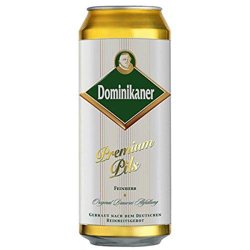 Dominikaner Premium Pils 24 x 0,5l Dosen inkl. Pfand