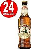 24 x Birra Moretti L'autentica 4,6% vol. Originalkiste 0,33L Flasche MEHRWEG