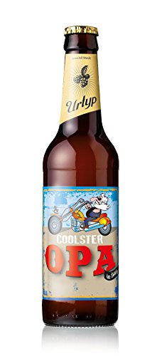6er Bier-Box Coolster Opa mit Namenseindruck
