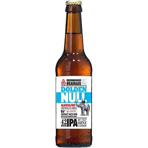 MEHRWEG Riedenburger Bier Riedenburger 'Dolden Null' aus Bayern, alkoholfrei (330 ml) - Bio