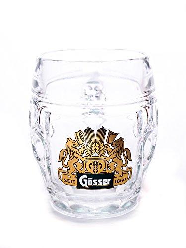 GÖSSER BIER KRÜGERL, Bier Krüge Augenkanne 6 Stück mit jeweils 0,5 Liter