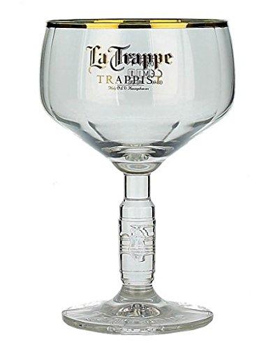 La Trappe Biergläser Trappist Bier Kelch 25cl