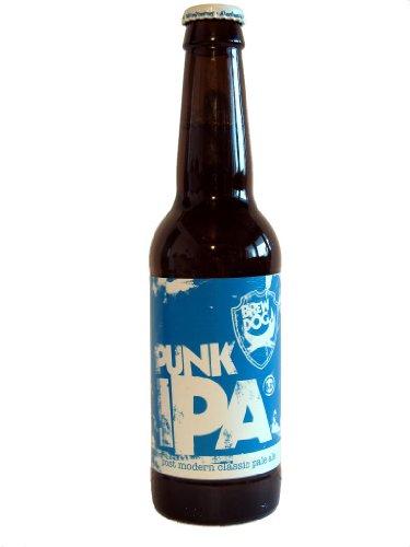 24 Flaschen a 0,33l Brewdog Mix in Dead Pony ,Punk IPA, Brewdog 5 A.M. Saint. Bier 5% vol.