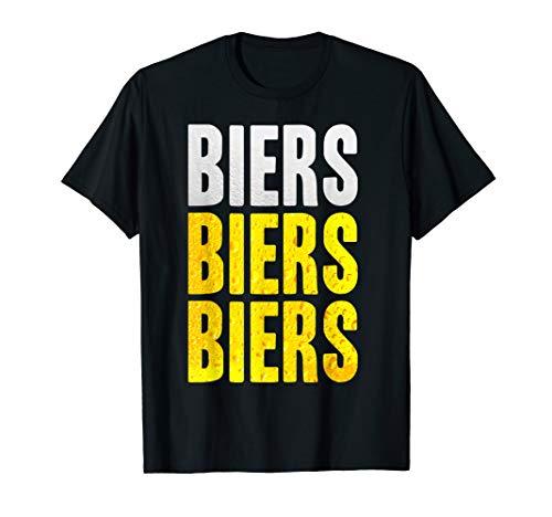 Biers Biers Biers Beer Bier Beers Liebe Party Meme Fun Drink T-Shirt