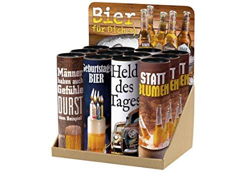 La Vida Bier für Dich 12 Flaschen im Display