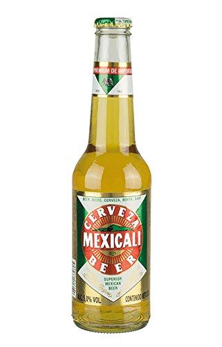 Cerveza MEXICALI Pilsener Superior 6 x 330 ml Bier aus Mexiko