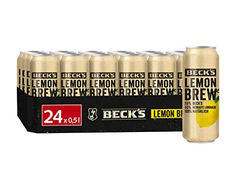 Beck's Lemon Brew Natur Radler Dose  EINWEG (24 x 0.5 l)
