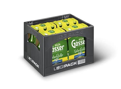 Gösser NaturRadler 0.0 alkoholfrei 4x6x0,33l Flasche MW