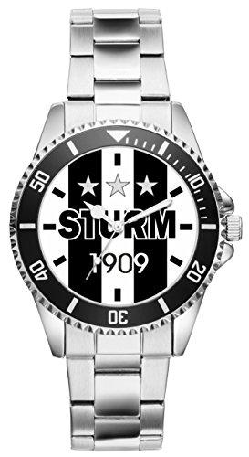Sturm Geschenk Artikel Idee Puntigamer Fan Uhr 20299