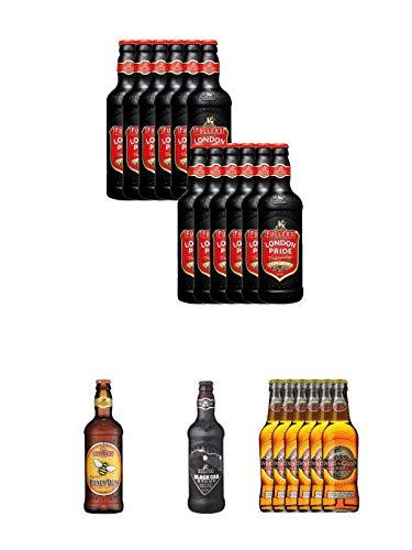 Fuller`s London Pride Bier 12 x 0,5 Liter + Fuller's London Honey Dew Bier 0,5 Liter + Fuller's...