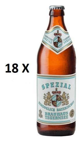 18 Flaschen a 0,5L Tegernseer Spezial a 5,6% vol. inc. 1.44€ MEHRWEG Pfand