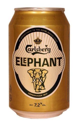 Carlsberg Elephant Beer 7,2% 24x0,33 ltr. inkl. Pfand