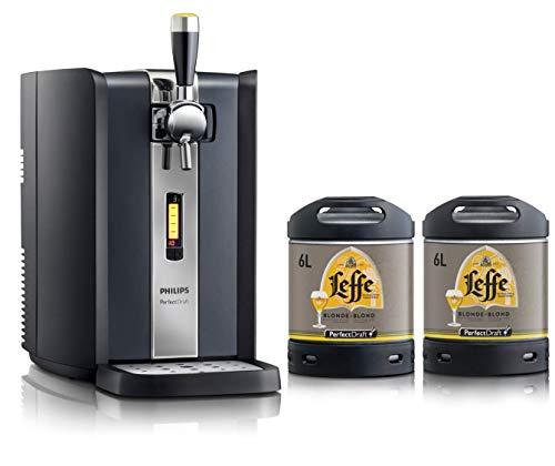 Bierzapfanlage PerfectDraft 6-Liter. Beinhaltet 2 x 6L Fässer Bier - Inklusive 10euros Pfand....
